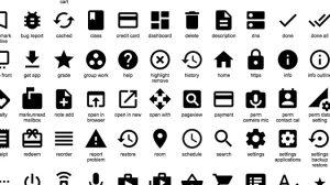 Visuel du pack d'icône Material Design