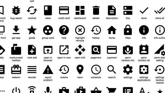 google publie un pack d u0026 39 ic u00f4nes material design en open source