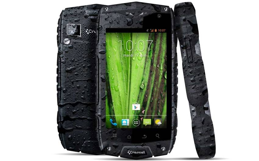 crosscall lance l 39 odyssey un smartphone tout terrain moins de 250 euros android mt. Black Bedroom Furniture Sets. Home Design Ideas