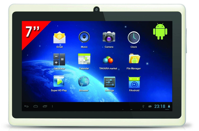 Takara : Moins de 50 euros pour cette tablette Android 7 pouces