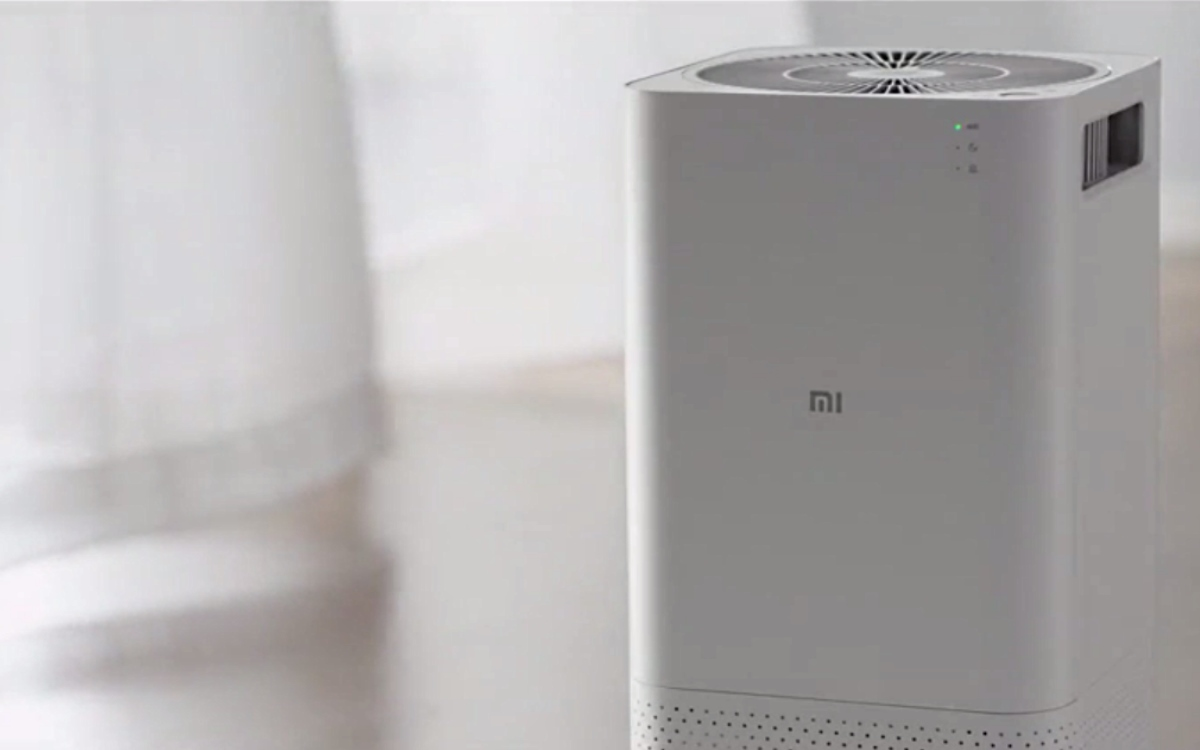 mi air purifier lab le purificateur d 39 air connect de xiaomiandroid mt. Black Bedroom Furniture Sets. Home Design Ideas