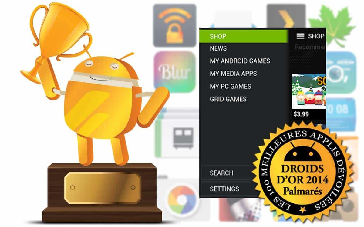 Droids d 39 or 2014 les meilleures applications des for Meilleur constructeur