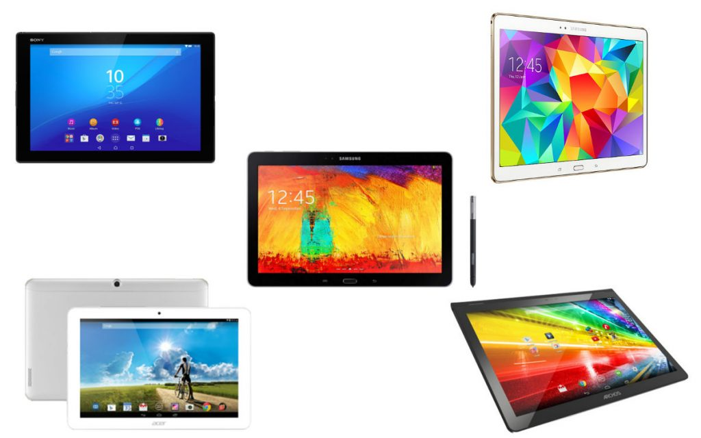 top 5 tablettes android 10 pouces les meilleurs appareils android mt. Black Bedroom Furniture Sets. Home Design Ideas