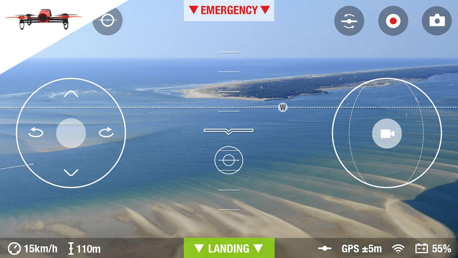 freeflight 3  l u0026 39 application de pilotage des mini