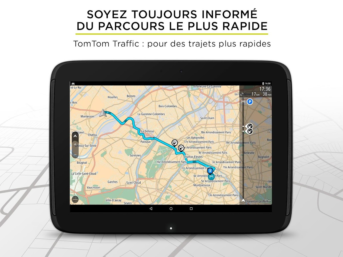 tomtom go mobile le reboot de l 39 application de navigationandroid mt. Black Bedroom Furniture Sets. Home Design Ideas