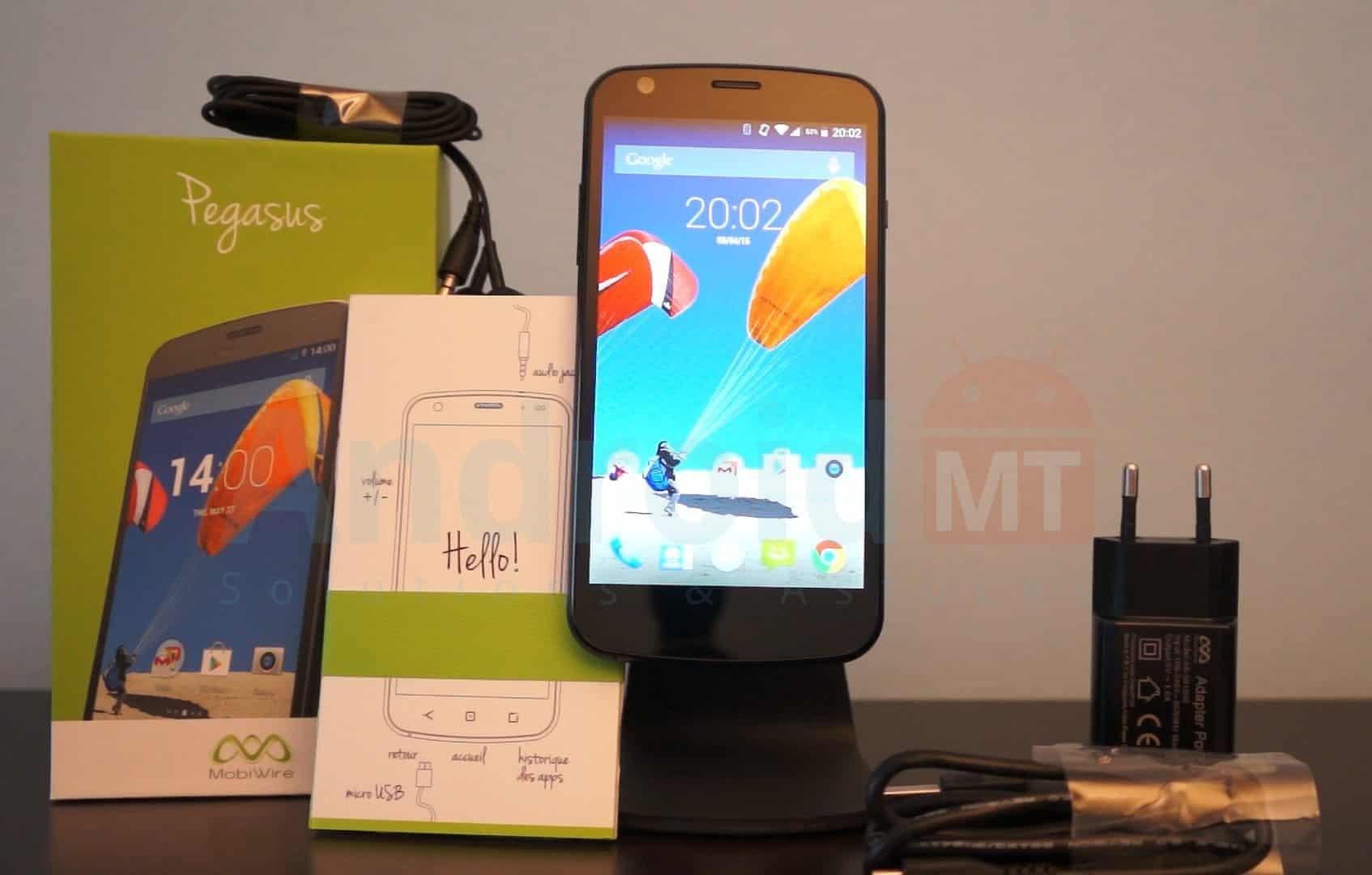 Test du MobiWire Pegasus : un smartphone 4G élégant à ...