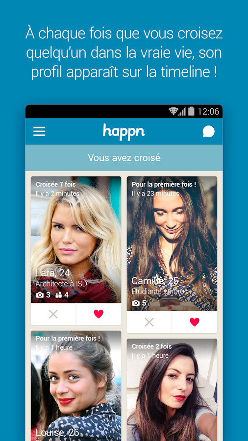 Happn rencontre