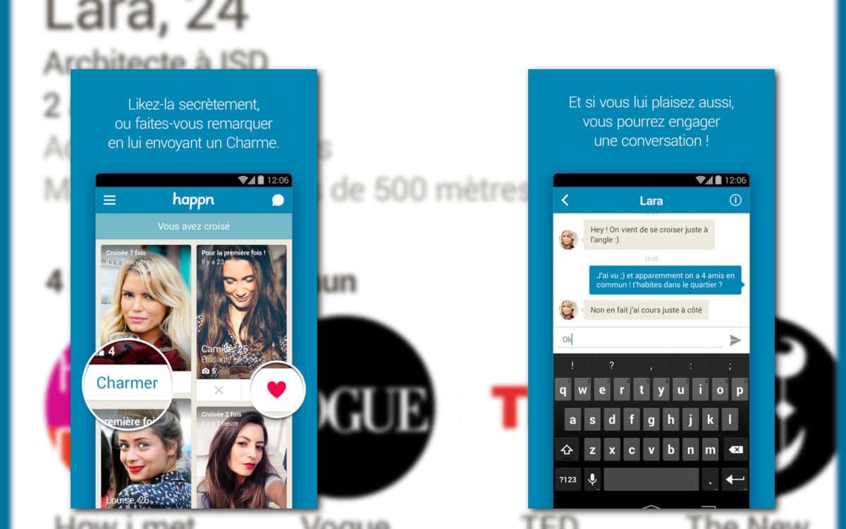rencontre de proximité pour Android