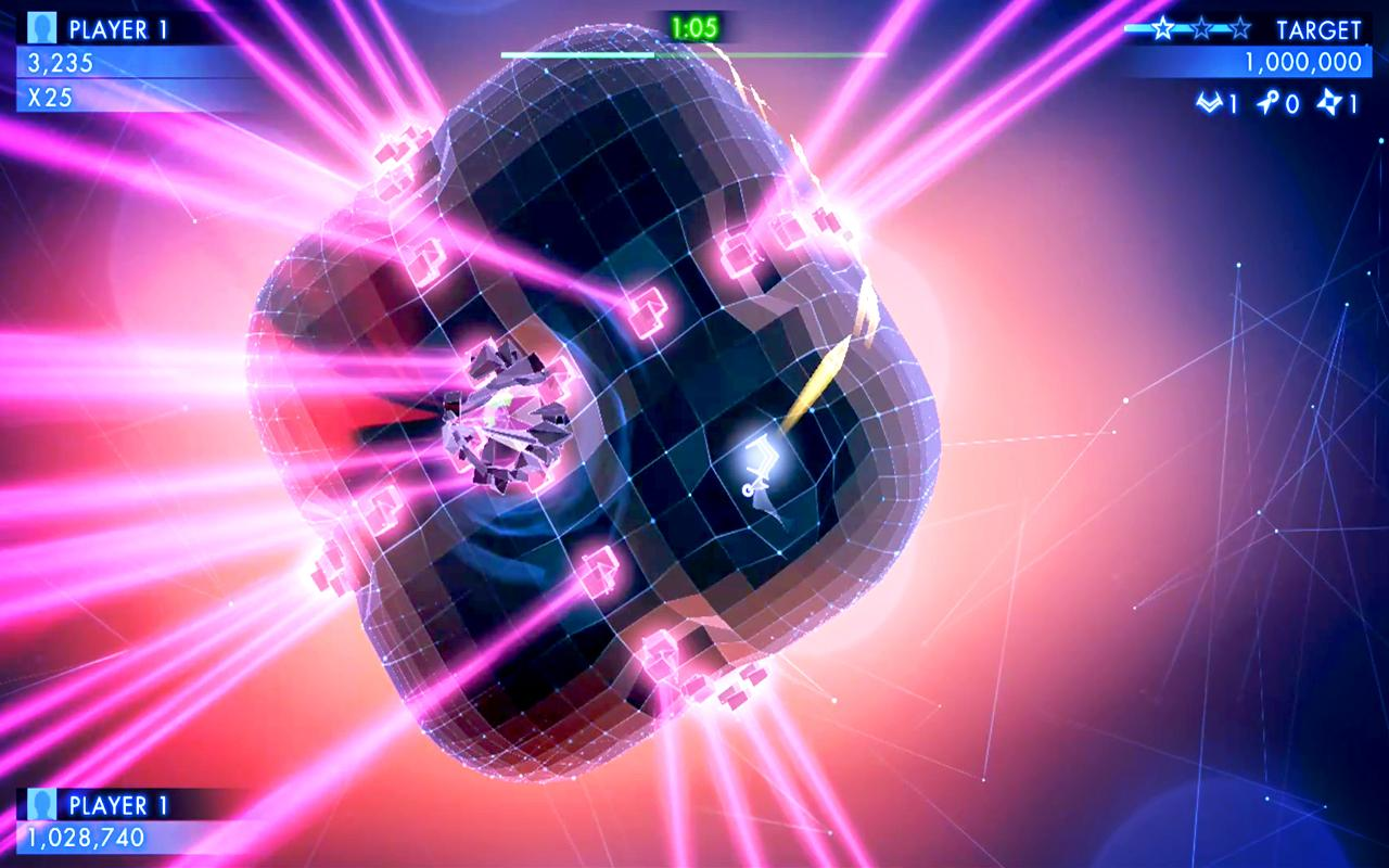 Spirit for iPhone & Android Looks Like Geometry Wars, But ...