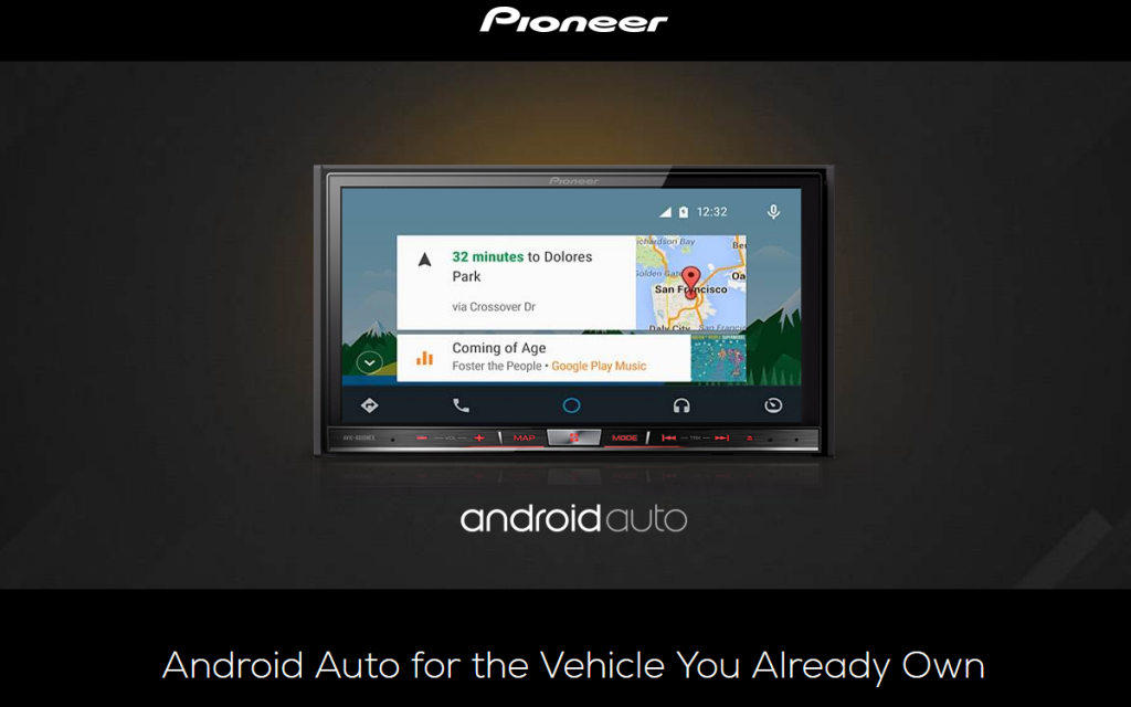 pioneer lance ses autoradios android auto en franceandroid mt. Black Bedroom Furniture Sets. Home Design Ideas