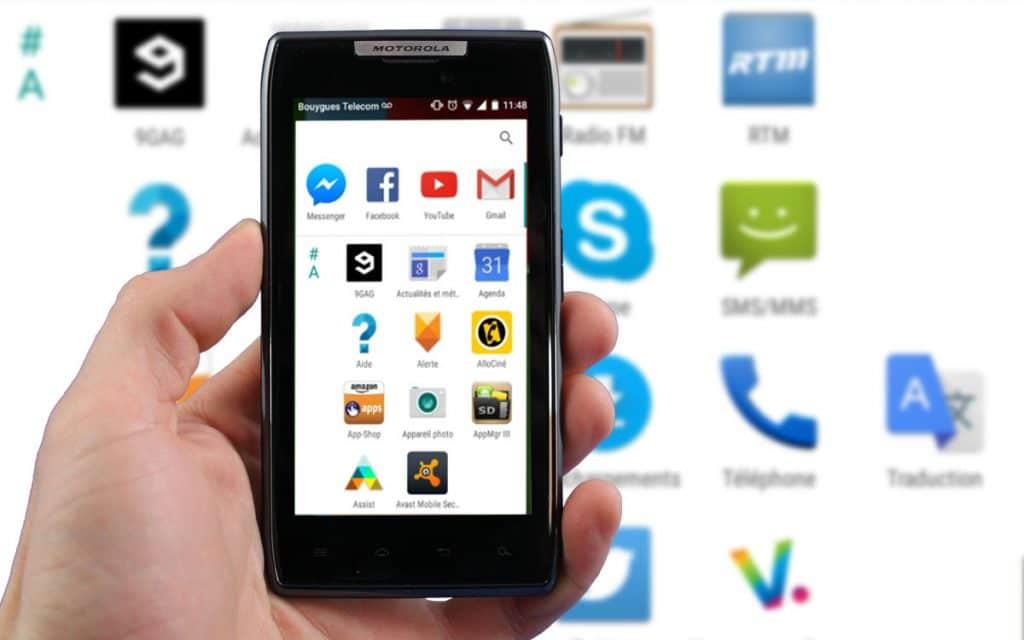 Lanceur applis Android M