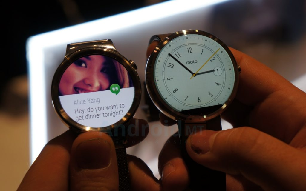 Android Wear IOS_une