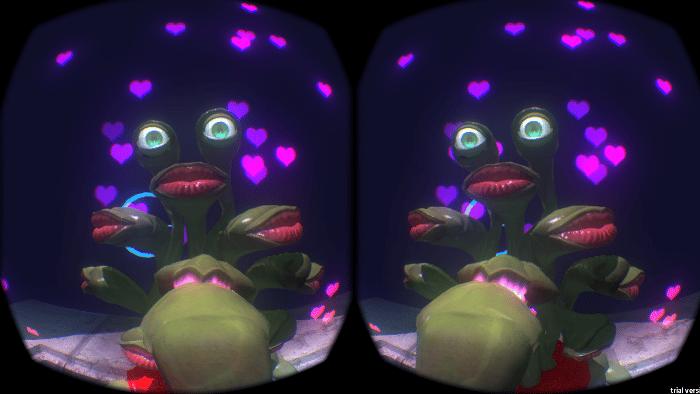 Sur l'Oculus Rift, Alien Makeout Simulator propose de flirter avec une alien. Il en faut pour tous les goûts.