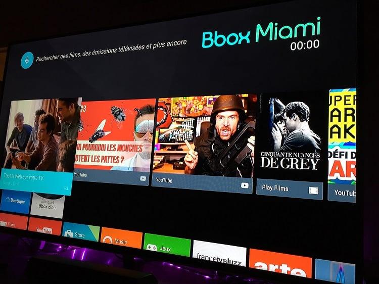 la bbox miami va passer sous android tv en 2016android mt. Black Bedroom Furniture Sets. Home Design Ideas