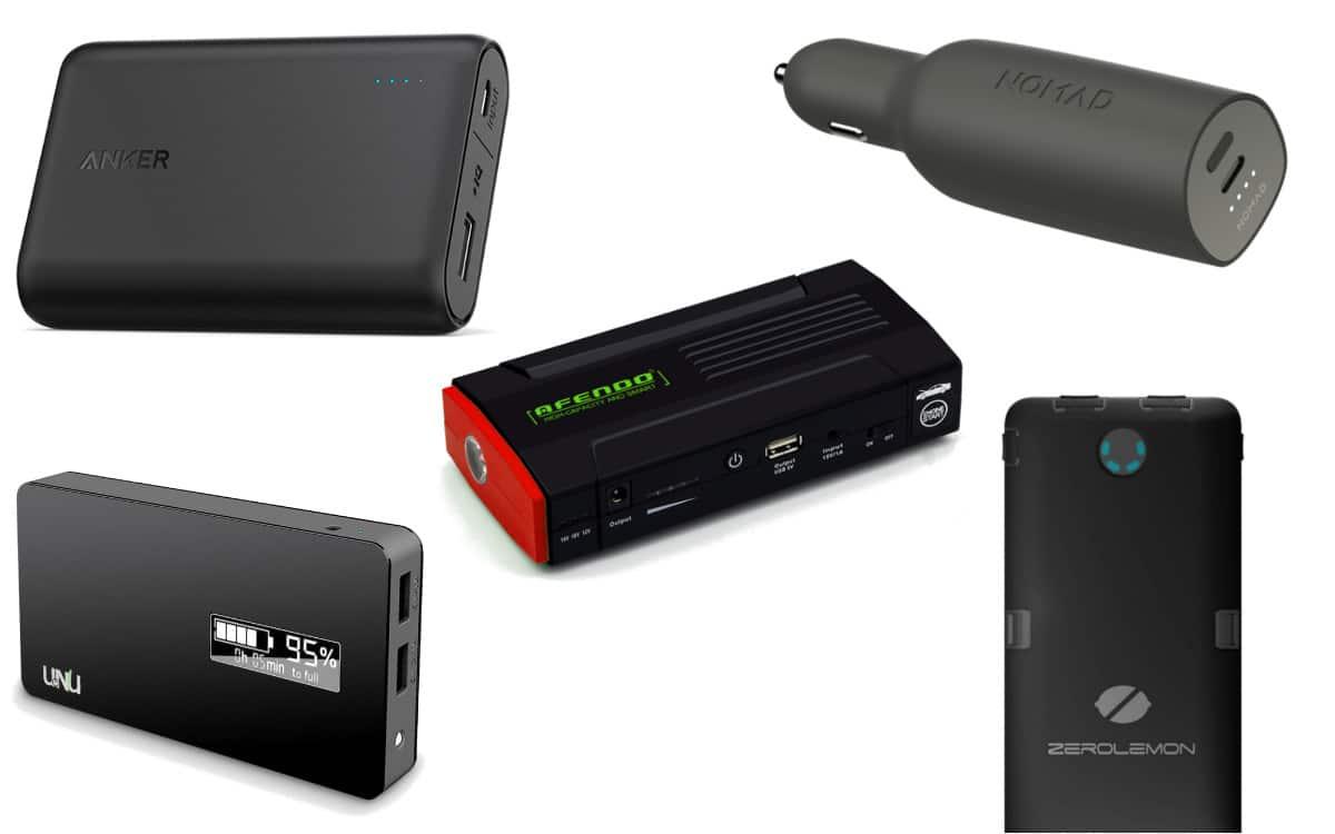 top 5 des batteries externesandroid mt. Black Bedroom Furniture Sets. Home Design Ideas