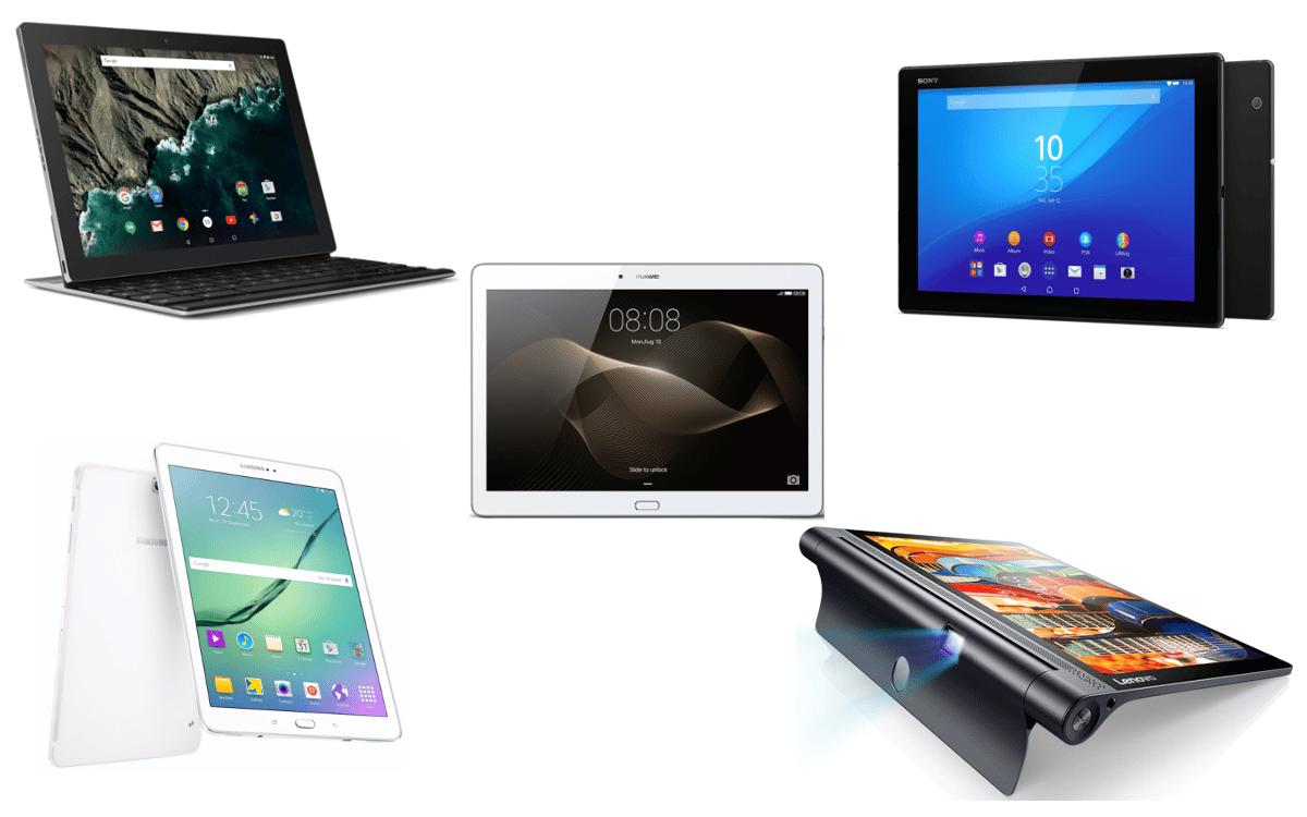 top 5 des tablettes android haut de gammeandroid mt. Black Bedroom Furniture Sets. Home Design Ideas