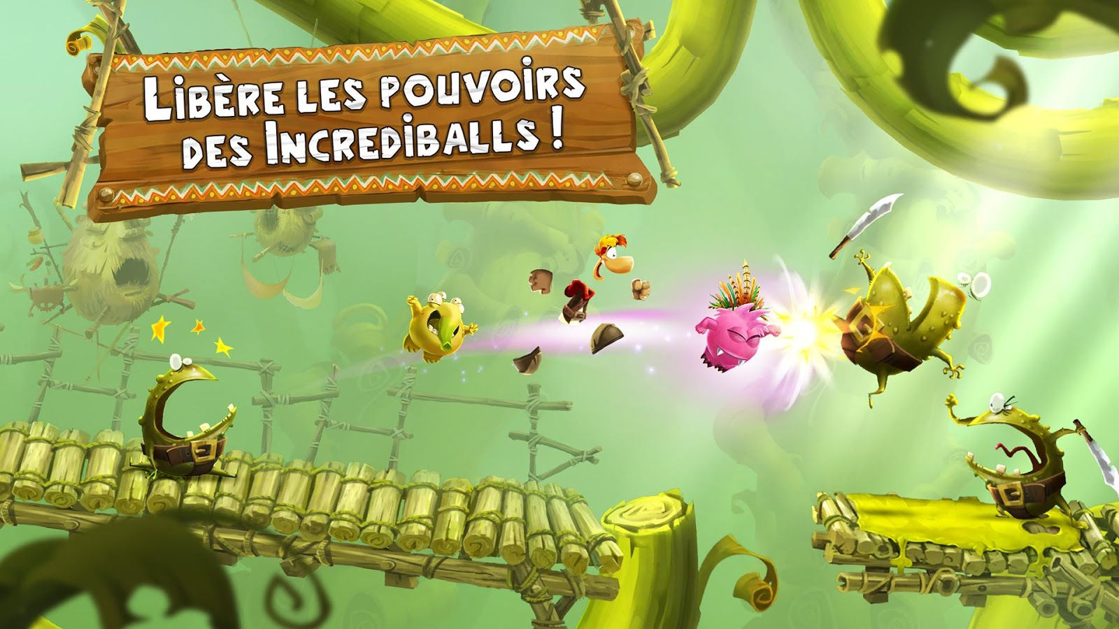 Filme Rayman inside rayman adventures : un grand jeu mobile android mt