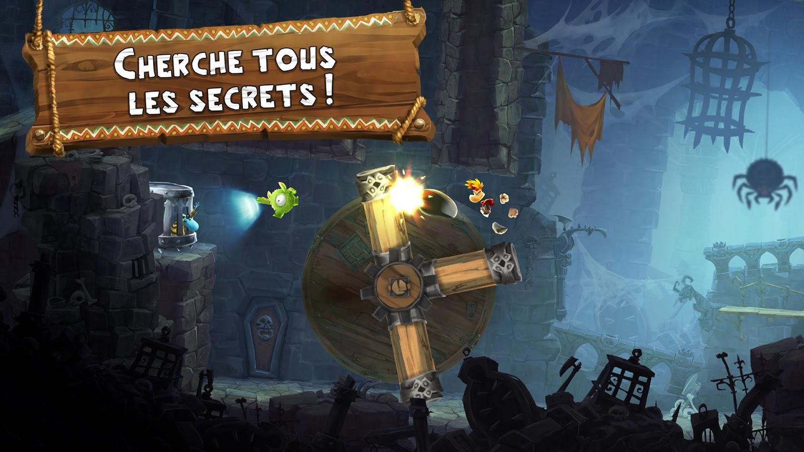 Filme Rayman throughout rayman adventures : un grand jeu mobile android mt