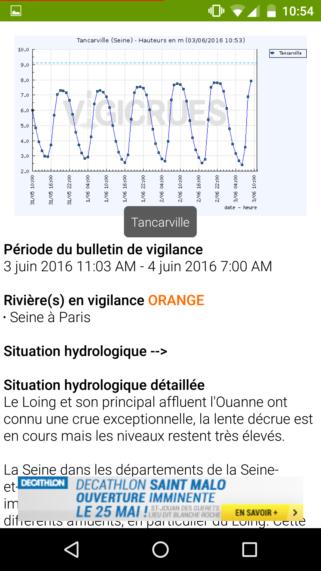 L Application Youtube Fait Son Grand Retour Sur Ios: Inondations Et Catastrophes : L'application Qui Dit Tout