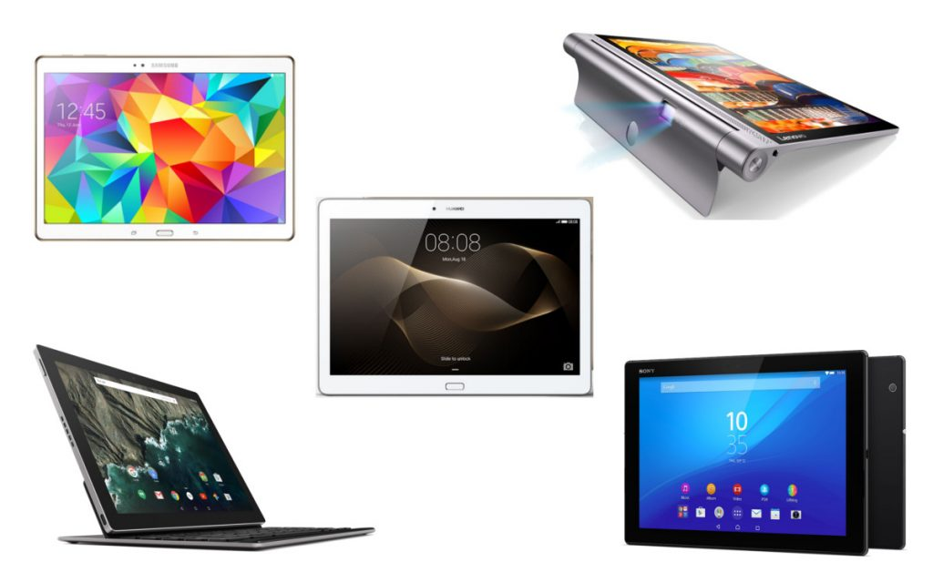 Top 5 des tablettes grand format 10 pouces et plus - Choix tablette 10 pouces ...