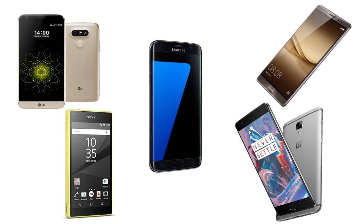 top 5 quel est le meilleur smartphone haut de gamme android mt. Black Bedroom Furniture Sets. Home Design Ideas