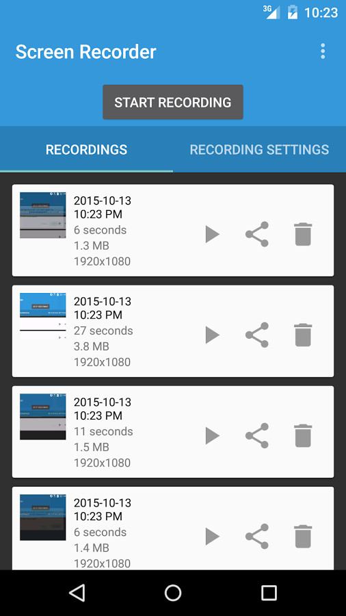 how to get a screen recorder for android