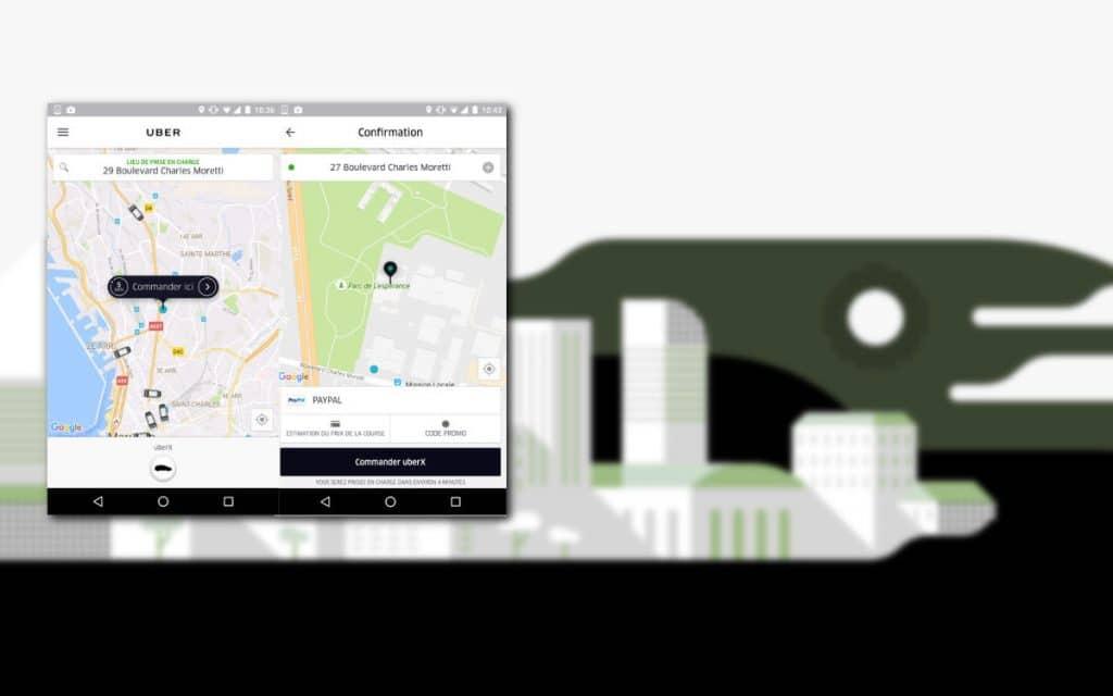 comment utiliser uber sur android l 39 trangerandroid mt. Black Bedroom Furniture Sets. Home Design Ideas