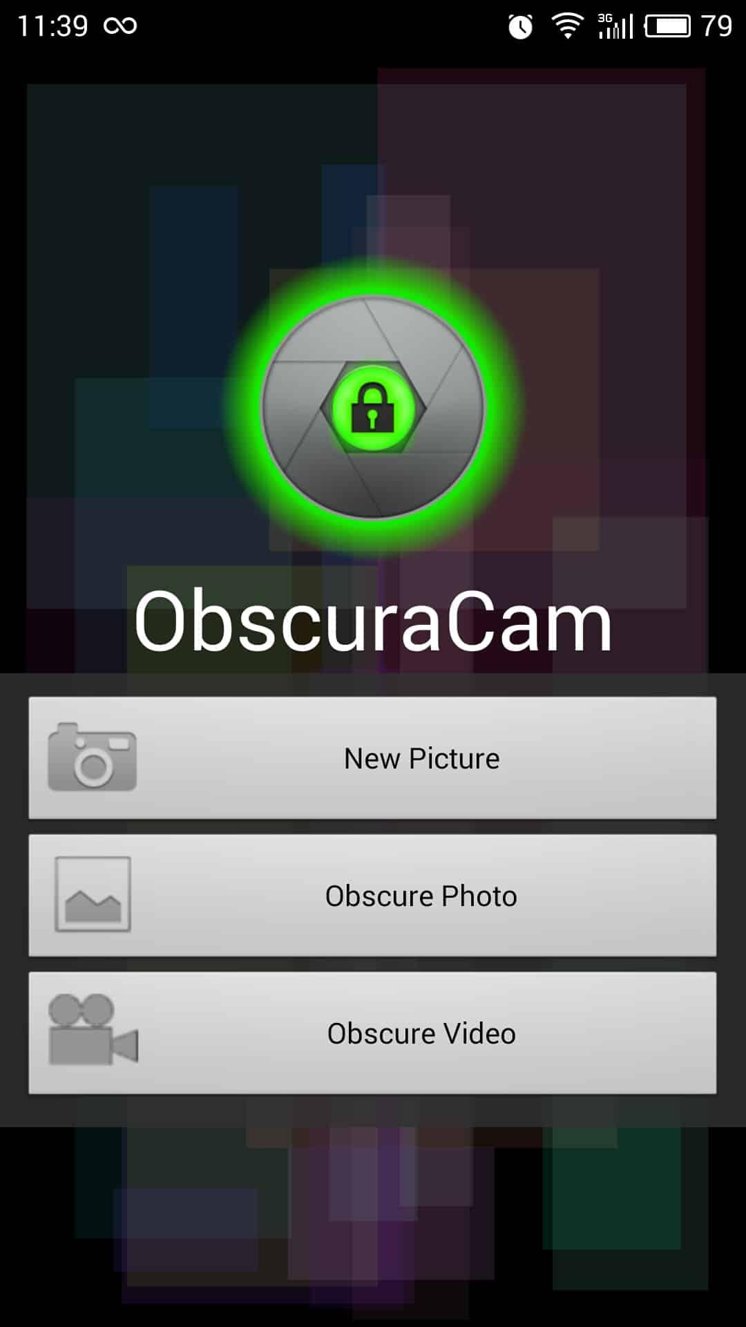 ObscuraCam appli