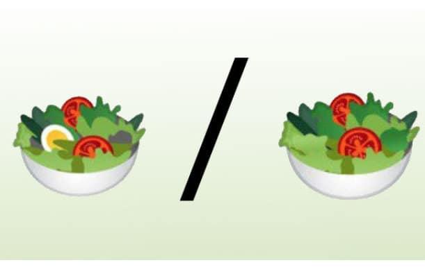 salade emoji