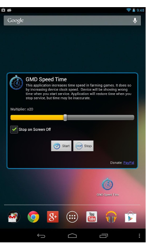 GMD Speed Time appli