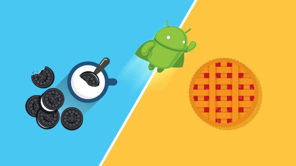 Android Pie Oreo