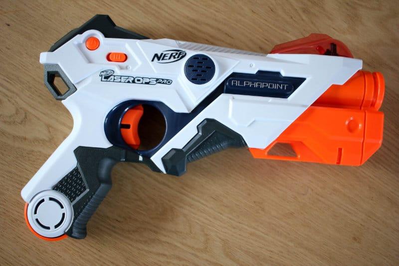 nerf laser