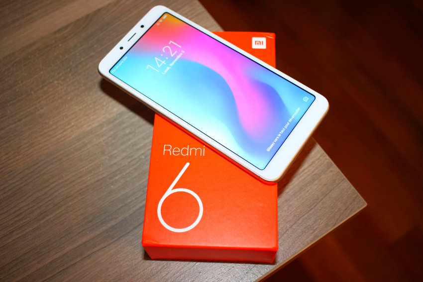 test xiaomi redmi 6