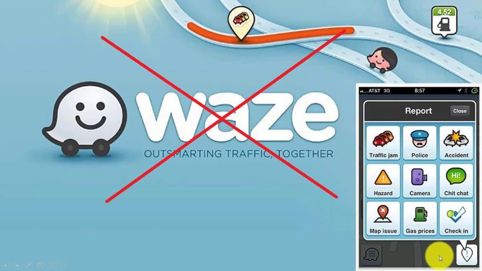 waze coyote police