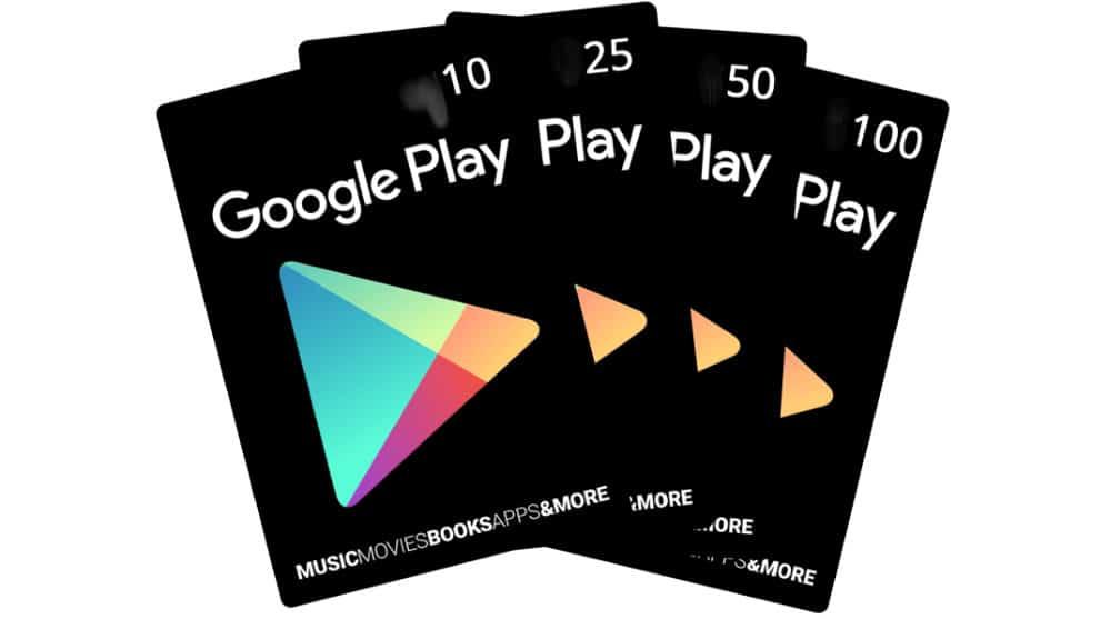 cadeau google play