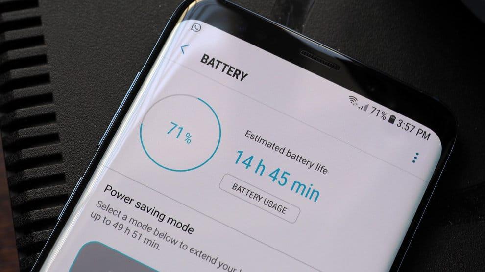 galaxy s9 batterie