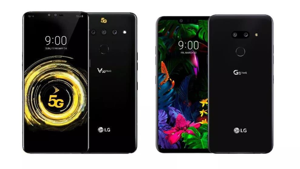 LG V50 Thinq, G8