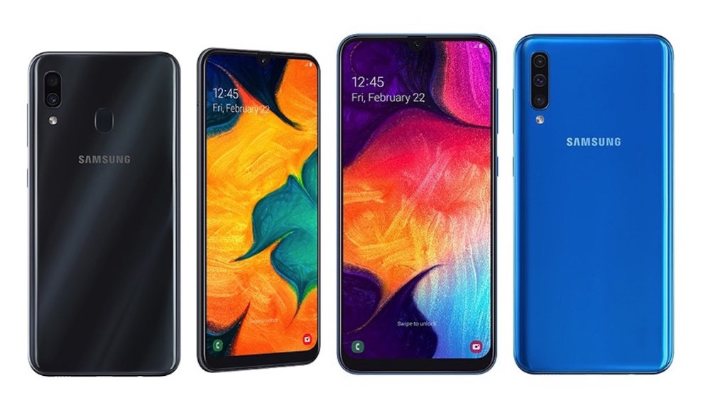 Galaxy A30 et le Galaxy A50