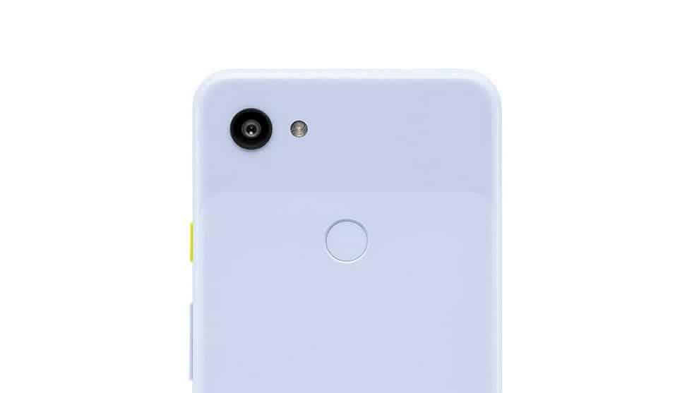 Google Pixel 3a violet