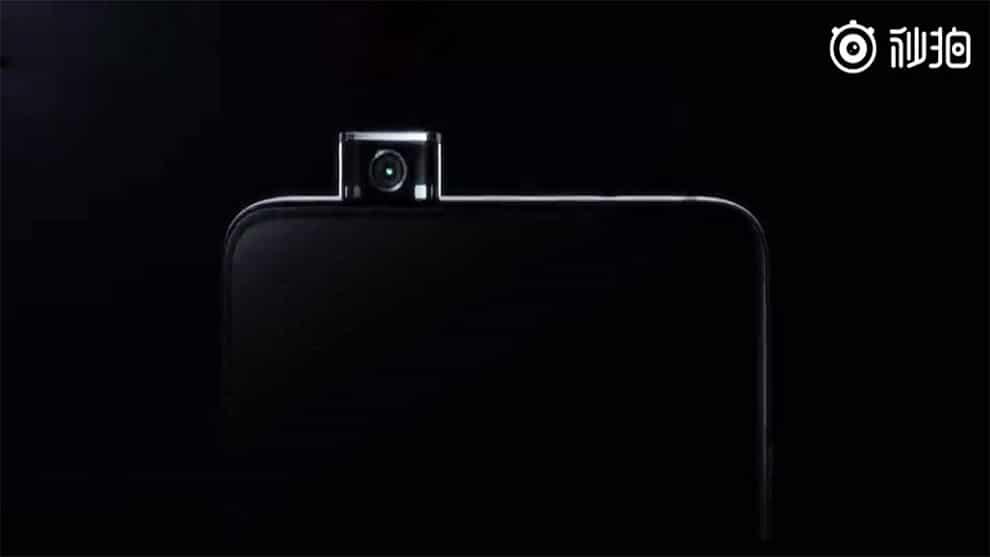Redmi smartphone caméra rétractable