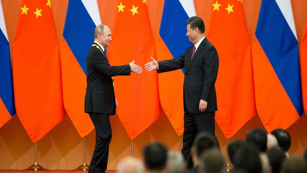 Poutine et Xi Jinping