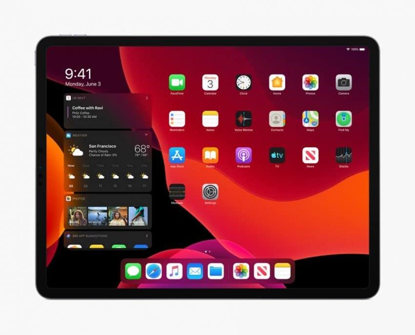 dark mode apple iPADOS