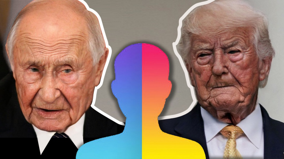 FaceApp Trump and Poutine