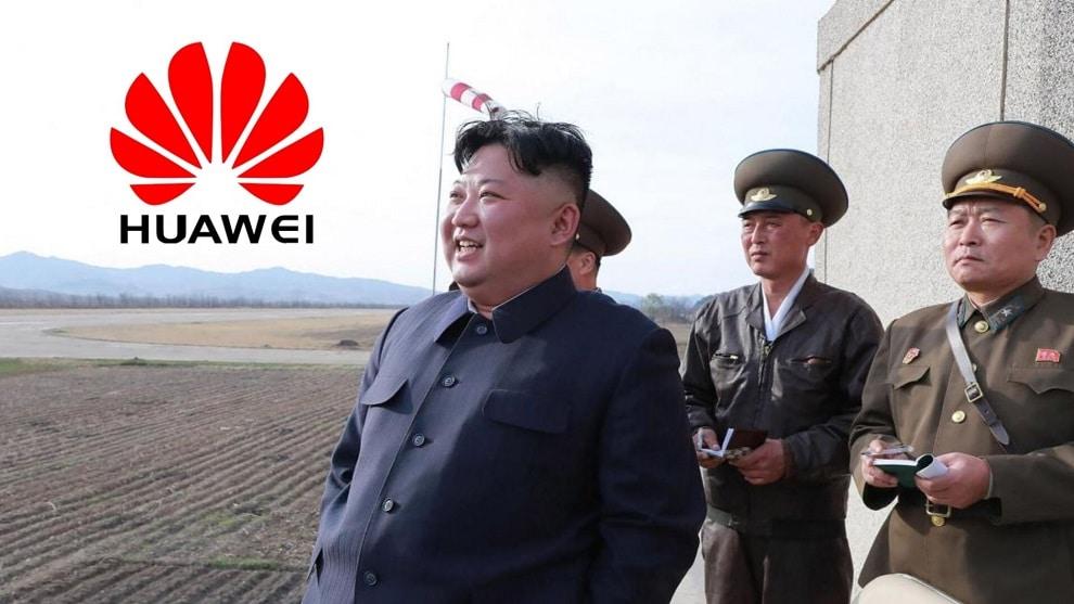 KimJong et Huawei