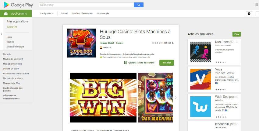 play store casino