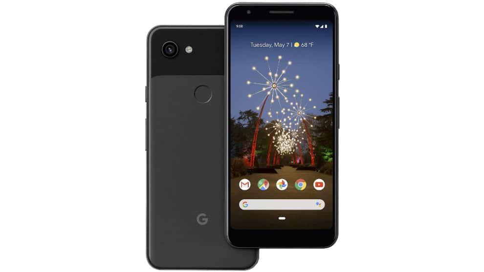 test pixel 3a smartphone