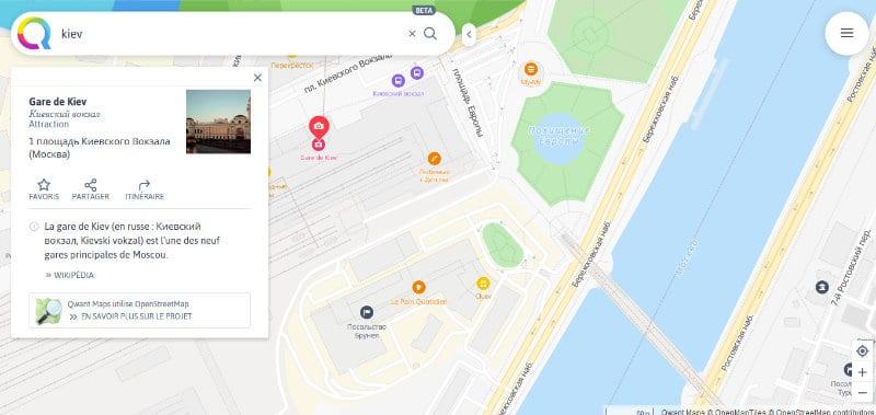 qwant map