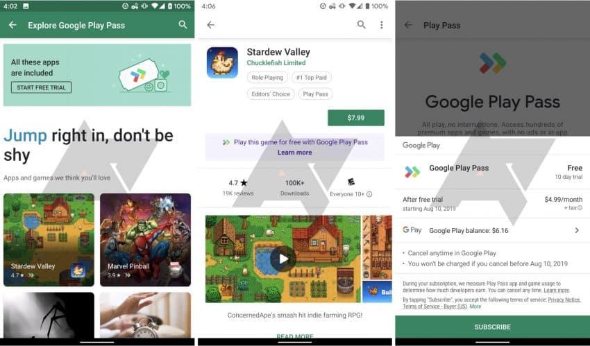 google Play Pass capture 2