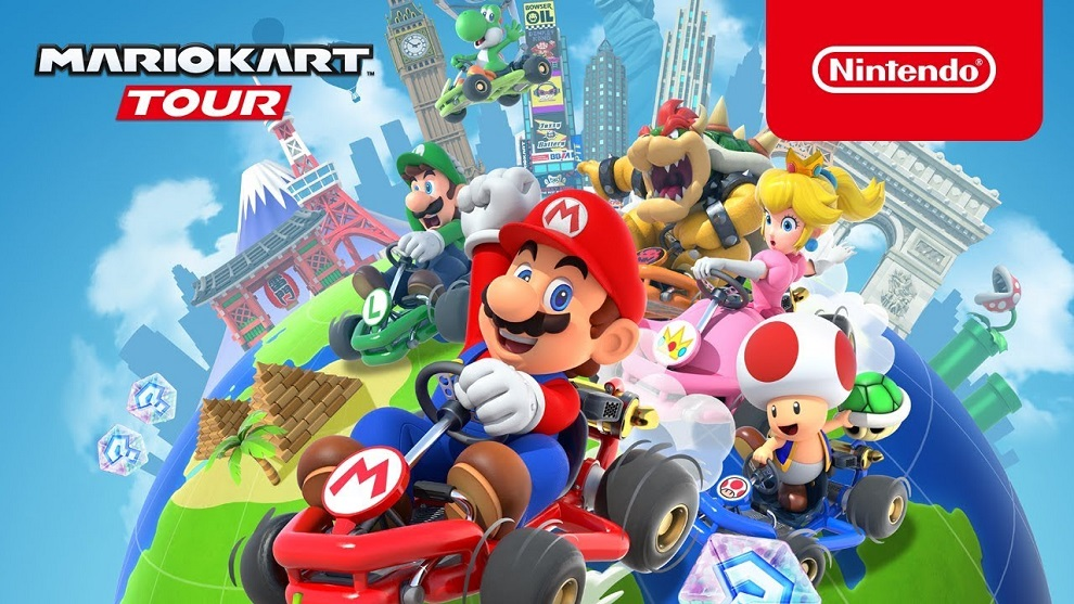 mario kart tour official
