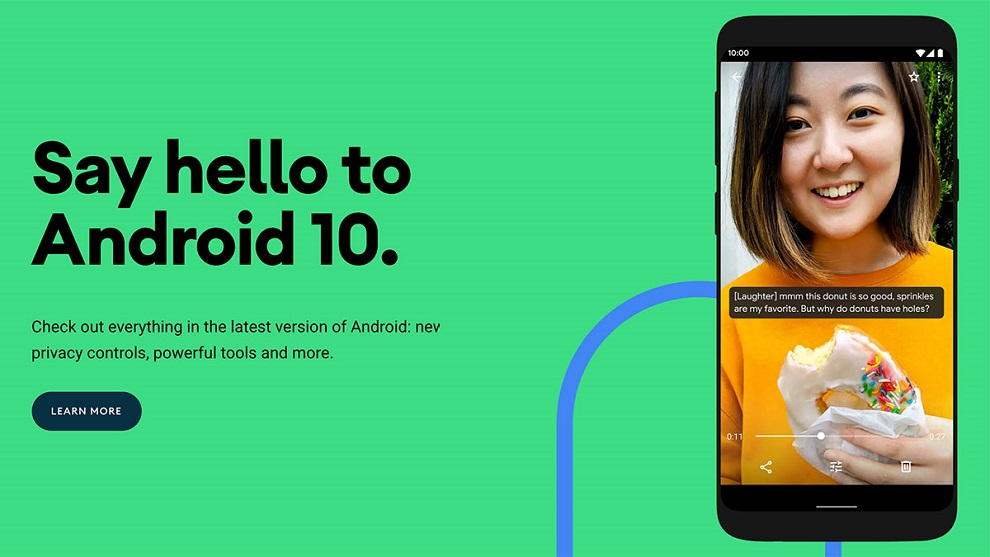 Android 10 launch